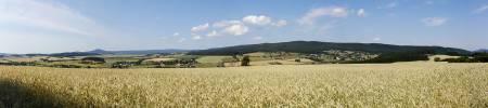 pohled od Hluboše